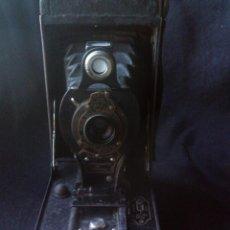 Cámara de fotos: KODAK DE FUELLE, BALL BEARING SHUTTER 1910, USA. FABRICADA POR EASTMAN - ROCHESTER, N. Y. USA.. Lote 83804736