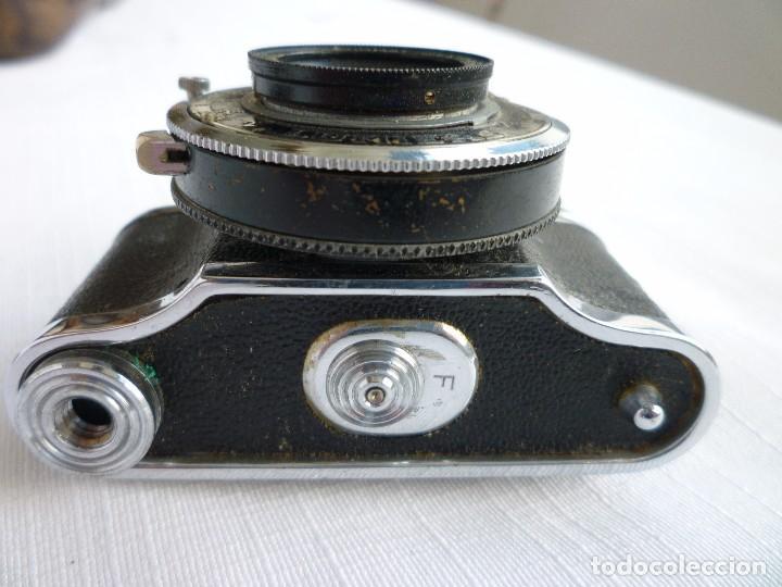 Cámara de fotos: Cámara Fotográfica en Miniatura - Eljy, Lumiere - Años 40-50 - Funda Original Y Disparador ORIGINAL - Foto 12 - 84176172