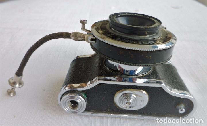 Cámara de fotos: Cámara Fotográfica en Miniatura - Eljy, Lumiere - Años 40-50 - Funda Original Y Disparador ORIGINAL - Foto 18 - 84176172