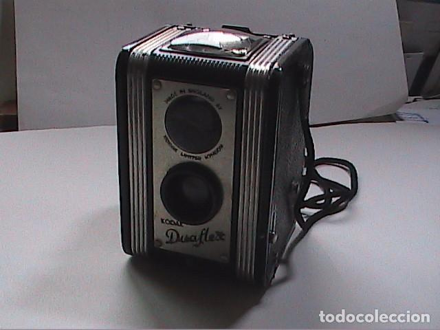 PRIMERA KODAK DUAFLEX. 1947-1960. MADE IN ENGLAND, PARA FILMS DE 620. (Cámaras Fotográficas - Antiguas (hasta 1950))