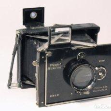 Cámara de fotos: PLAUBEL MAKINA I .OBJETIVO ANTICOMAR 100MM F2,9 . COMPUR 200. EN ÓPTIMAS CONDICIONES. AÑO 1912-193. Lote 86440904