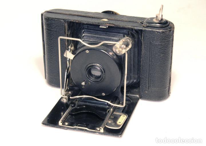Cámara de fotos: Excelente ICA Alpha 6X6 Alemana, Año 1919 - Foto 2 - 87607220