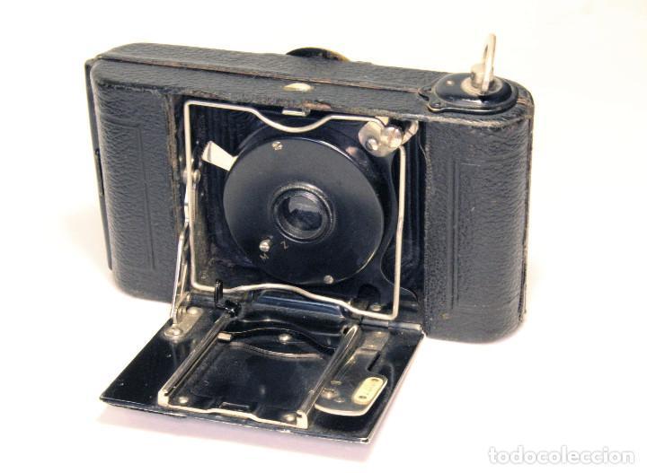 Cámara de fotos: Excelente ICA Alpha 6X6 Alemana, Año 1919 - Foto 8 - 87607220
