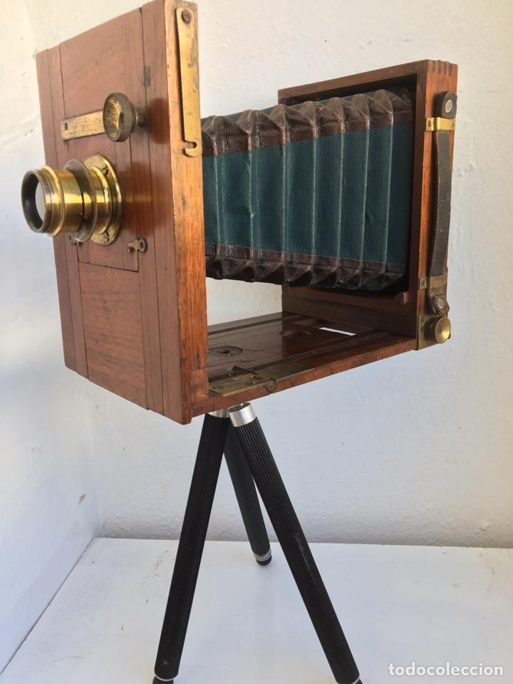 C mara antigua de madera comprar c maras fotogr ficas - Camaras fotos antiguas ...