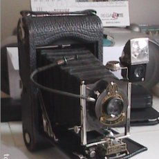 Cámara de fotos: EXCELENTE CÁMARA FOTOGRÁFICA KODAK FOLDING POCKET Nº 3, MODELO G. 1914.. Lote 90893090