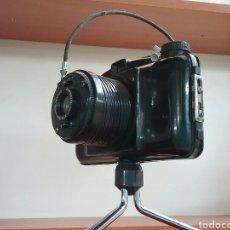 Cámara de fotos: CÁMARA FOTOGRÁFICA FOTEX. FABRICACIÓN ESPAÑOLA. OBJETIVO ENROSCABLE, TRÍPODE Y DISPARADOR ORIGINAL.. Lote 144740500