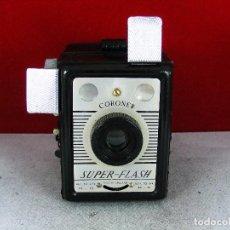 Cámara de fotos: BIEN CONSERVADA CORONET SUPER -FLASH M,AGNIFICO ESTADO OPTICO Y DE FUNCIONAMIENTO. Lote 92198495