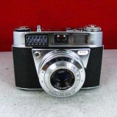 Cámara de fotos: MAGNIFICA CAMARA COMPACTA KODAK RETINETTE MODELO - I B FUNCIONA CON FUNDA. Lote 92288395