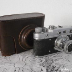 Cámara de fotos: ANTIGUA CÁMARA DE FOTOS FOTOGRÁFICA SOVIÉTICA RUSA URSS ALEMANA MODELO ZORKI 1 LEICA II AÑO 1949. Lote 95161551