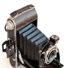 Cámara de fotos: *1933/1940* • AGFA BILLY RECORD 7.7 ANASTIGMAT JGESTAR • FORMATO MEDIO 6X9 FOLDING. Lote 95497491