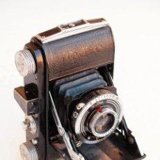 Cámara de fotos: *C1939* • WELTA WELTIX STEINHEIL CASSAR F2.9 • OBT. COMPUR, 35MM FOLDER DE PREGUERRA. Lote 95560067