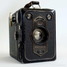 Cámara de fotos: CÁMARA ZEISS IKON BOX TENGOR 1934. FUNCIONANDO. Lote 95765599