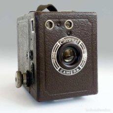Cámara de fotos - ANTIGUA CÁMARA CORONET BOX 6X9 MARRÓN. ENGLAND AÑOS 30. - 96899567