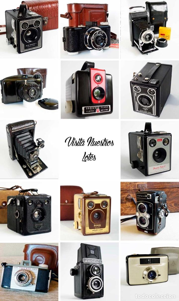 Cámara de fotos: ANTIGUA CÁMARA CORONET BOX 6X9 MARRÓN. ENGLAND AÑOS 30. - Foto 7 - 96899567