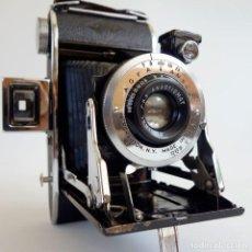 Cámara de fotos: ANTIGUA CÁMARA DE FUELLE AGFA ANSCO CAPTAIN 1936. DIFÍCIL. Lote 97092983
