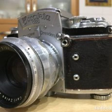 Cámara de fotos: EXAKTA VX CON OBJETIVO CARL ZEISS BIOTAR 2 / 58MM. Lote 84630236