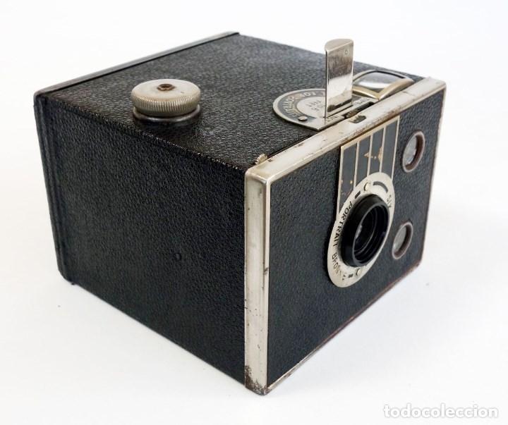 Cámara de fotos: CÁMARA SIX 20 PORTRAIT BROWNIE 1936. ÚNICA EN TC. FUNCIONA - Foto 4 - 97742683