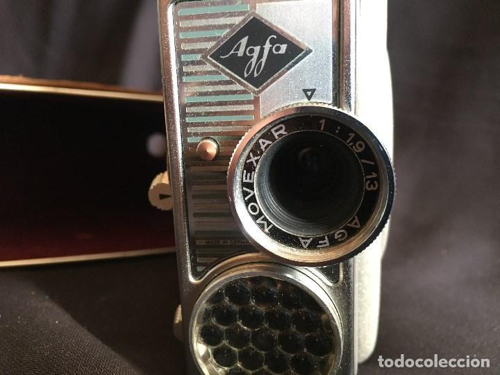 Cámara de fotos: CAMARA SUPER 8 AGFA MOVEX 88L CON FUNDA ORIGINAL - Foto 2 - 97786451