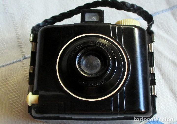 Cámara de fotos: CAMARA VINTAGE BABY BROWNIE SPECIAL - Foto 6 - 98671159