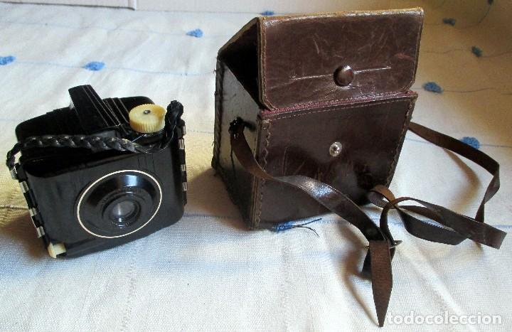 Cámara de fotos: CAMARA VINTAGE BABY BROWNIE SPECIAL - Foto 7 - 98671159
