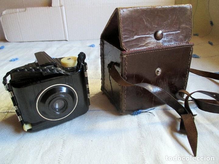 Cámara de fotos: CAMARA VINTAGE BABY BROWNIE SPECIAL - Foto 8 - 98671159