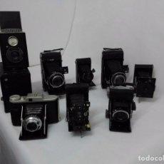Cámara de fotos: LOTE DE CAMARAS FOTOGRAFICAS DE FUELLE AÑOS 30 EN MUY BUEN ESTADO OPORTUNIDAD . Lote 98810235