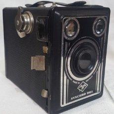 Cámara de fotos: CÁMARA DE FOTOS AGFA SYNCHRO BOX DE LOS AÑOS 30 APROXIMADAMENTE. Lote 99028819