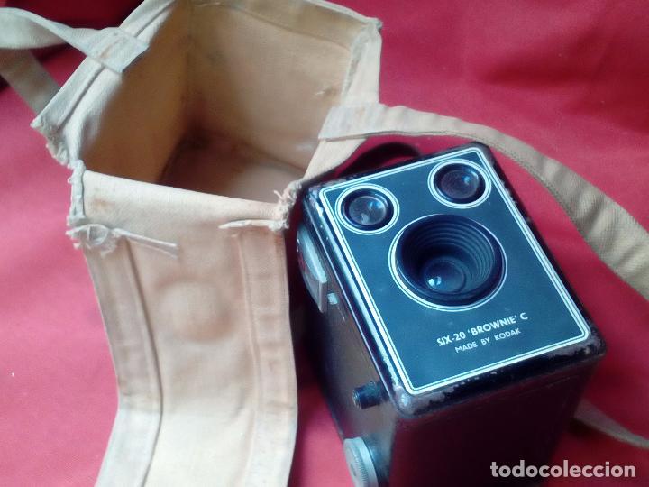 CAMARA FOTOGRAFICA KODAK BROWNIE SIX-2O (Cámaras Fotográficas - Antiguas (hasta 1950))