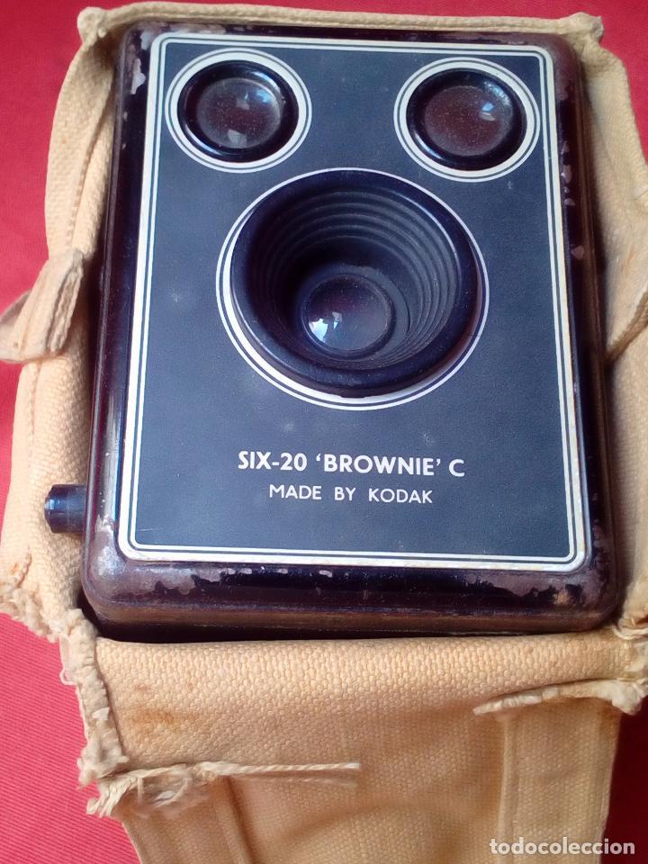 Cámara de fotos: CAMARA FOTOGRAFICA KODAK BROWNIE SIX-2O - Foto 3 - 100638543