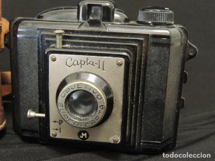 Cámara de fotos: camara capta II baquelita con funda - Foto 3 - 107191267