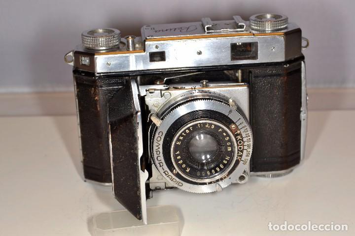 Cámara de fotos: CAMARA KODAK RETINA IIa - EKTAR 3,5/50 mm. - REF. 1555 - Foto 2 - 101964551