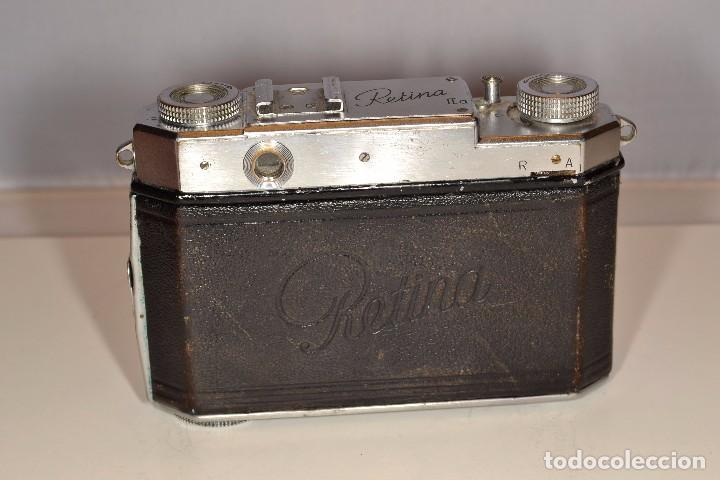 Cámara de fotos: CAMARA KODAK RETINA IIa - EKTAR 3,5/50 mm. - REF. 1555 - Foto 7 - 101964551