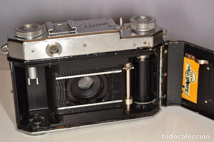Cámara de fotos: CAMARA KODAK RETINA IIa - EKTAR 3,5/50 mm. - REF. 1555 - Foto 8 - 101964551