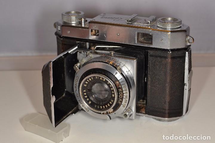 Cámara de fotos: CAMARA KODAK RETINA IIa - EKTAR 3,5/50 mm. - REF. 1555 - Foto 9 - 101964551