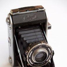 Cámara de fotos: *C1938* • ENSIGN SELFIX 220 ENSAR F4.5 PRONTOR-II • FORMATO MEDIO DOBLE 4,5X6 Y 6X6 FOLDING. Lote 104476031