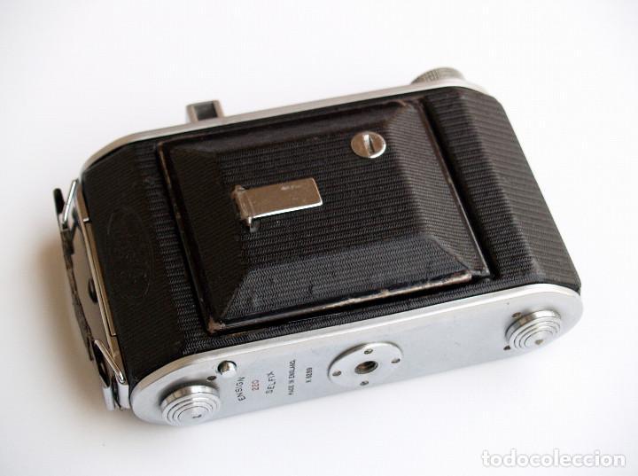 Cámara de fotos: *c1938* • Ensign SELFIX 220 Ensar f4.5 Prontor-II • formato medio DOBLE 4,5x6 y 6x6 folding - Foto 2 - 104476031