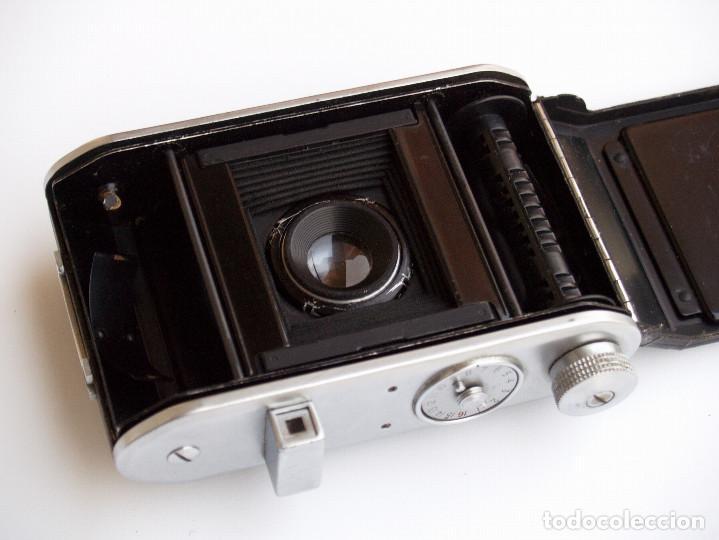 Cámara de fotos: *c1938* • Ensign SELFIX 220 Ensar f4.5 Prontor-II • formato medio DOBLE 4,5x6 y 6x6 folding - Foto 4 - 104476031