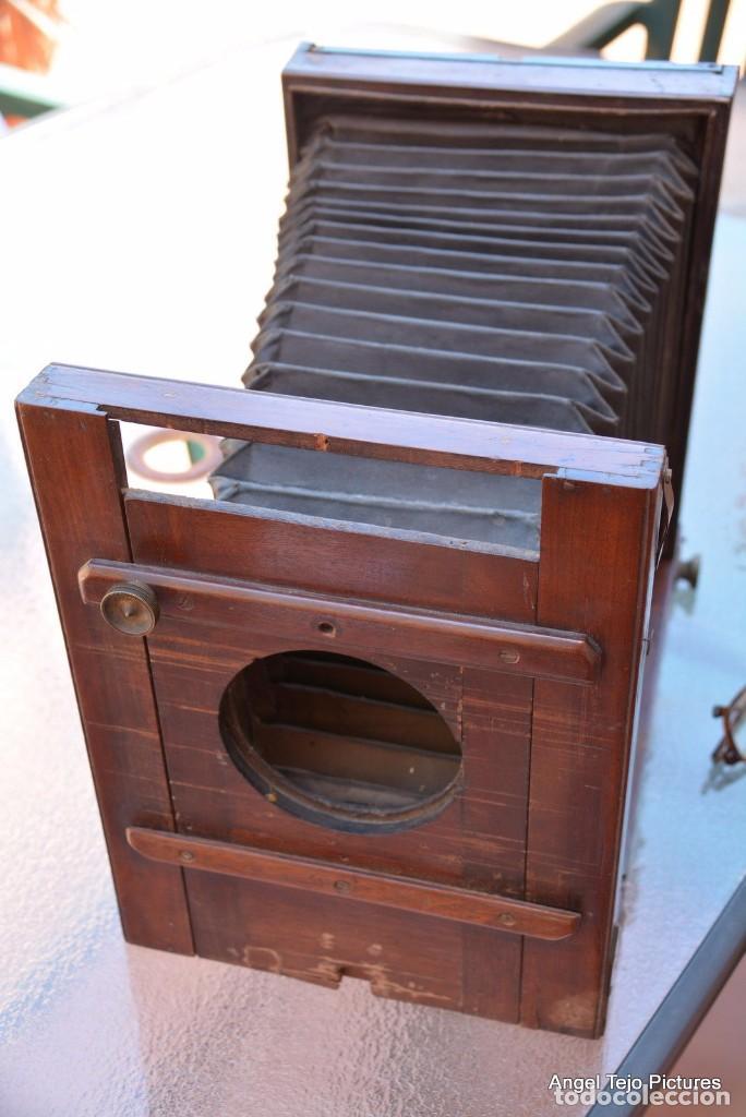 Cámara de fotos: Antigúa-13x18-CMS-Francia-Stile-Camara Madera.1890 CON OBJETIVO - Foto 3 - 104688615
