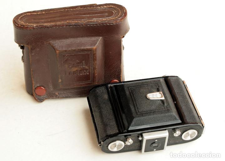 Cámara de fotos: *c1948* • Showa SEMI LEOTAX Reginon f3.5 obturador NKK • Formato medio folder 4,5x6 - Foto 4 - 105212147