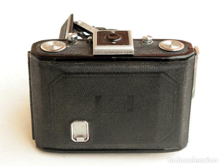 Cámara de fotos: *c1948* • Showa SEMI LEOTAX Reginon f3.5 obturador NKK • Formato medio folder 4,5x6 - Foto 8 - 105212147