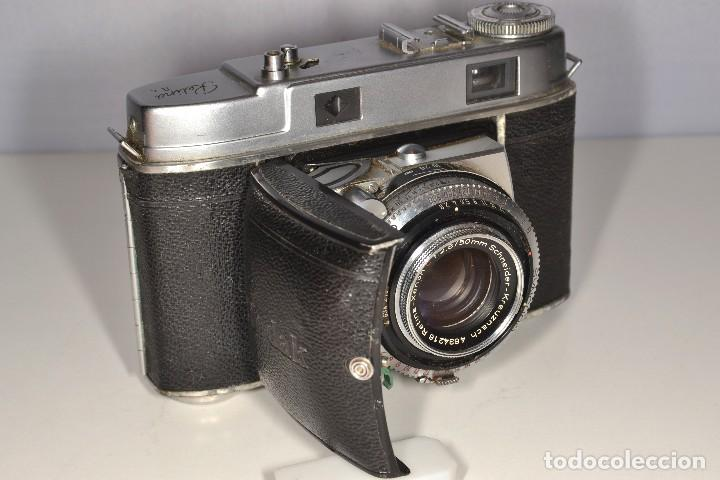 Cámara de fotos: CAMARA TELEMETRICA KODAK RETINA IIC - RETINA XENON C 2,8/50 - REF. 1576 - Foto 3 - 105642723