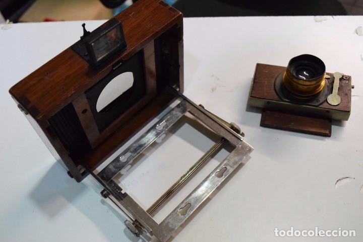 Cámara de fotos: Cámara De Madera Especial. con Taylor Hobson Serie III - Foto 3 - 105815099