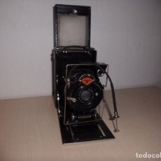 Cámara de fotos: CAMATA FOTOGAFICA --AGFA STANDARD DE PLACAS -AÑOS 1950-------2 OBJETIVOS PARA ACOPLAR EN LA CAMARA -. Lote 106063066