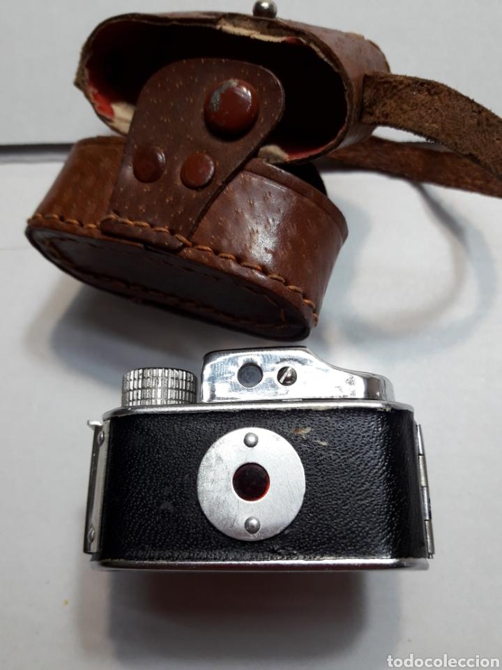 Cámara de fotos: Cámara mini antigua espía Toyoca en funda original - Foto 3 - 107212318