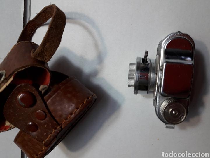 Cámara de fotos: Cámara mini antigua espía Toyoca en funda original - Foto 4 - 107212318