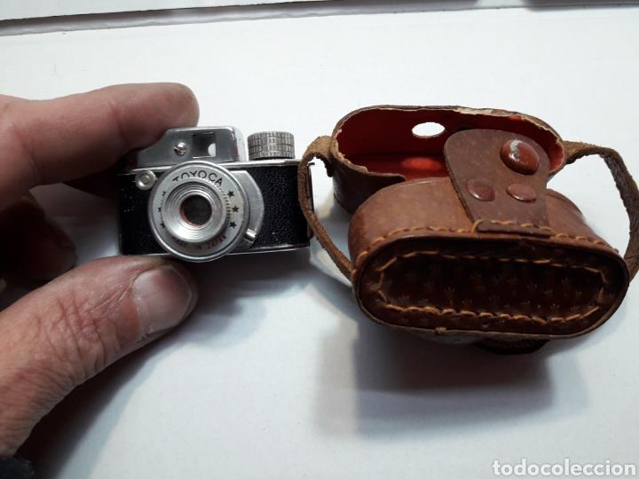 Cámara de fotos: Cámara mini antigua espía Toyoca en funda original - Foto 2 - 107212318