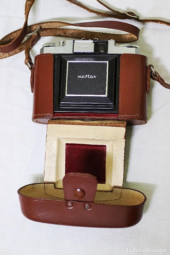 Cámara de fotos: Cámara clásica vintage de la marca Zeiss Ikon de la versión Nettax. - Foto 2 - 109154267