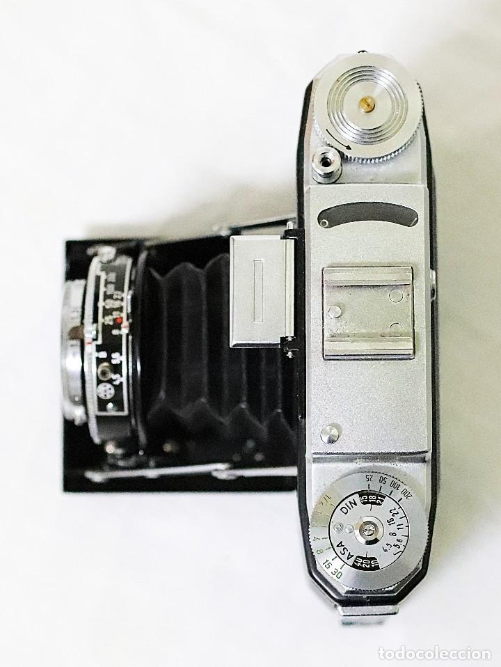 Cámara de fotos: Cámara clásica vintage de la marca Zeiss Ikon de la versión Nettax. - Foto 3 - 109154267