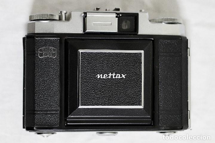 Cámara de fotos: Cámara clásica vintage de la marca Zeiss Ikon de la versión Nettax. - Foto 4 - 109154267