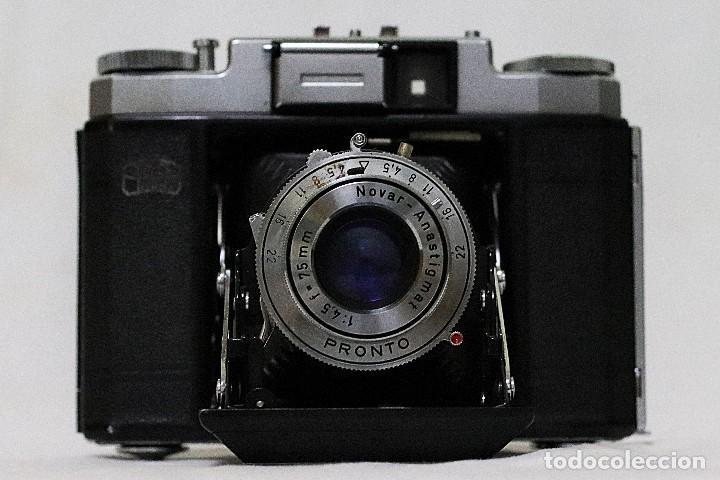Cámara de fotos: Cámara clásica vintage de la marca Zeiss Ikon de la versión Nettax. - Foto 5 - 109154267